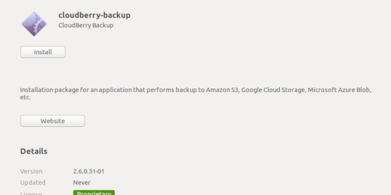 Install CloudBerry Backup