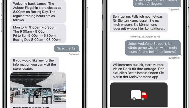 Apple Business Chat Now Available in UK, Canada, Australia, Germany, and Many Other Countries | Mac