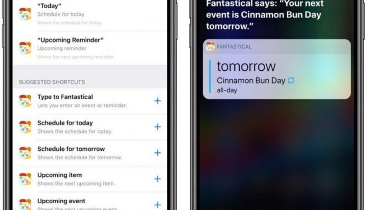 Fantastical 2 for iPhone and Apple Watch Gains Support for Siri Shortcuts, New Watch Faces | Mac