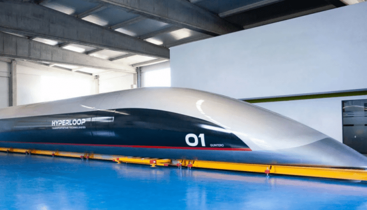 The First Full-Scale Hyperloop Passenger Capsule Has Arrived | Tech Top