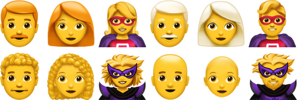 1538716983 129 A Look at All of the New Emoji Coming in iOS 12.1 Mac