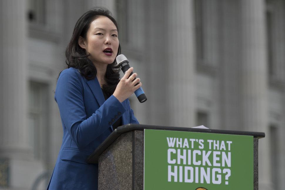 San Francisco Supervisor Jane Kim has proposed taxing robots and using thefunds to help stem inequality.