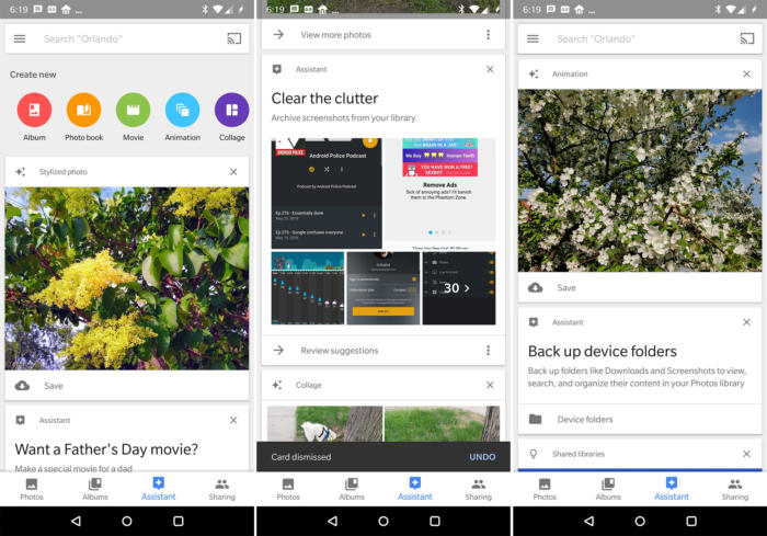 assistant for Google Photos