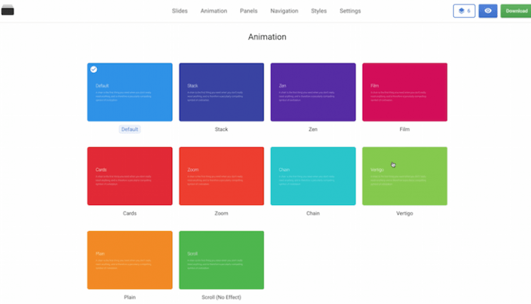 Practical Suggestions To Improve Usability Of Landing Pages With Animation From Slides | UX