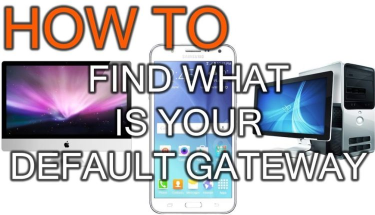 How To Discover Your Default Gateway IP Deal with | Tips & Tricks
