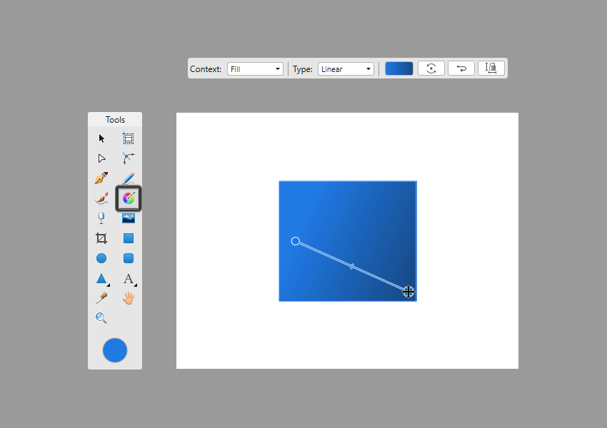 adjusting the direction of the gradient