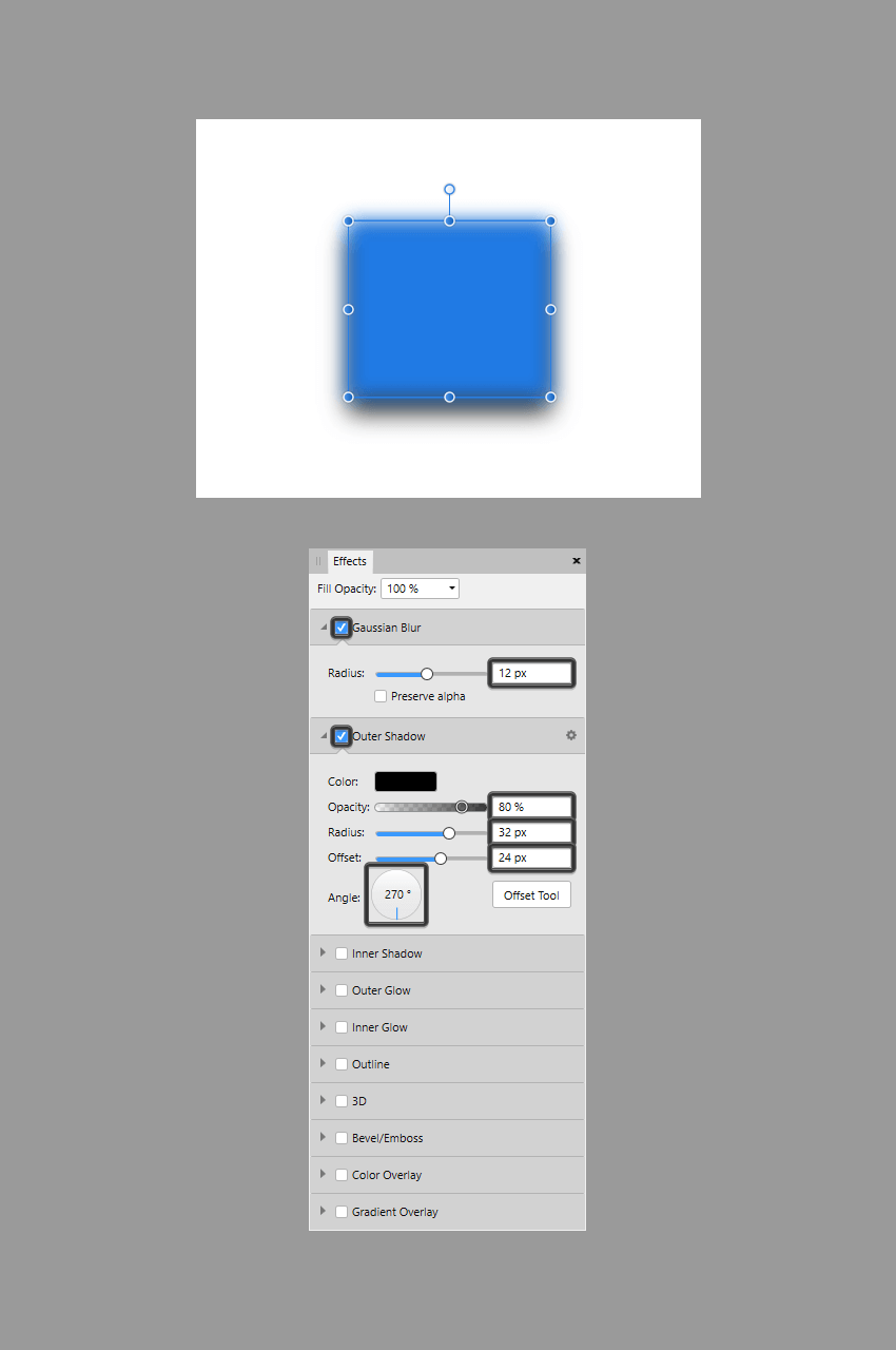 applying multiple effects onto the same object