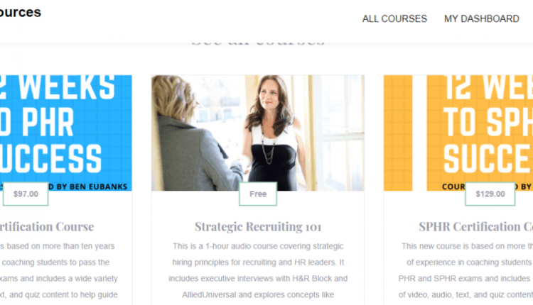 Announcement: New HR Certification Materials are Live! | Human Resources