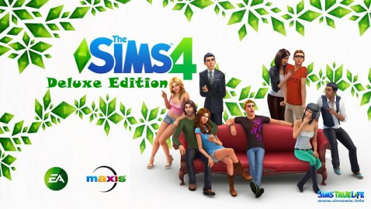 The Sims 4 Deluxe Edition PC Game Full Free Download | Viral Tech