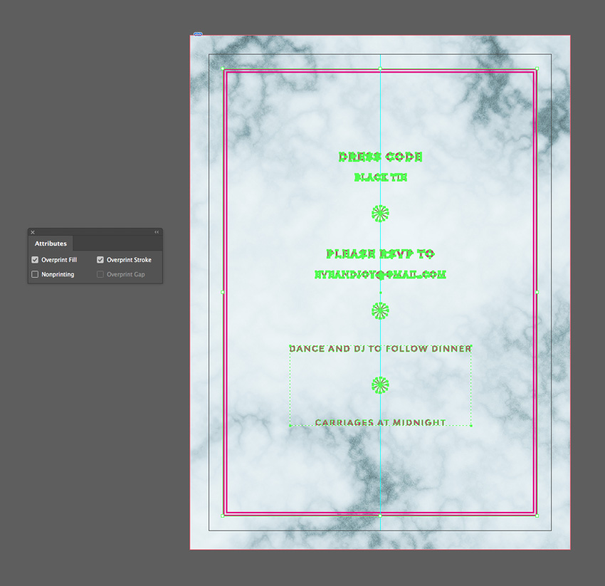 How to Create a Marble Wedding Invite in Adobe InDesign | How To