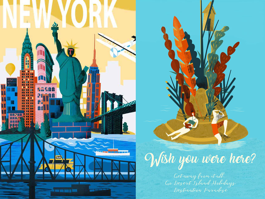 Explore Travel Posters