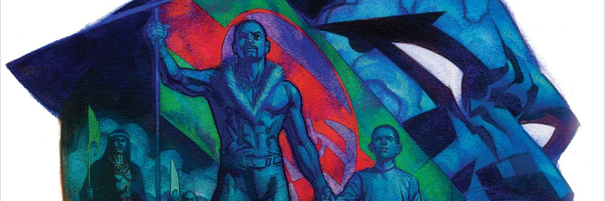 From the cover of Rise of the Black Panther #1, Marvel Comics (2018).