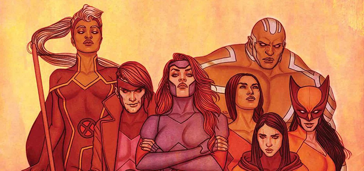 From the cover of X-Men Red #11, Marvel Comics (2019).