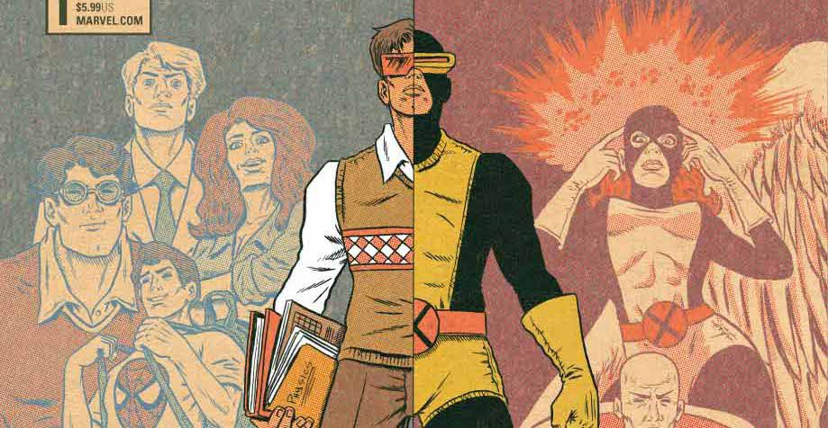 From the cover of X-Men: Grand Design #1, Marvel Comics (2018).