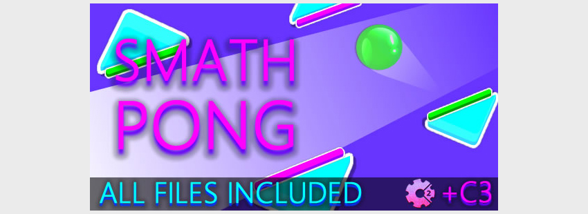 Smath Pong C2 C3 HTML Game