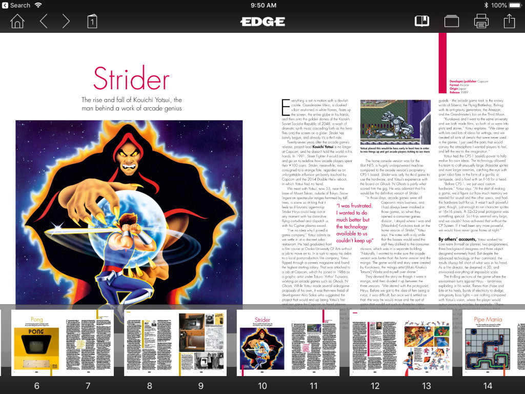 Enjoying magazines and books in purely digital format has multiple advantages.