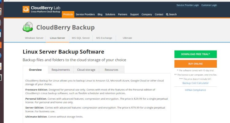 Backup & Restore Your Linux Desktop with CloudBerry Backup