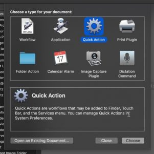 create-quick-actions-mac-mojave-action-type