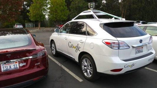 Google's self-driving Lexus cars took over thre streets of Austin, Texas from last week