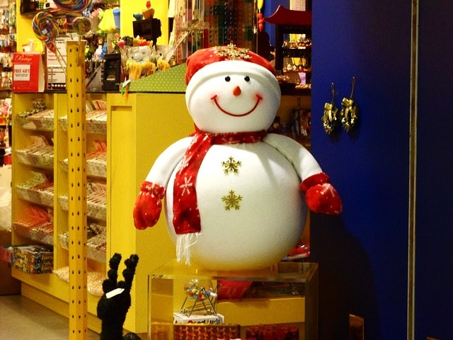 Managing Retail Inventory Snowman
