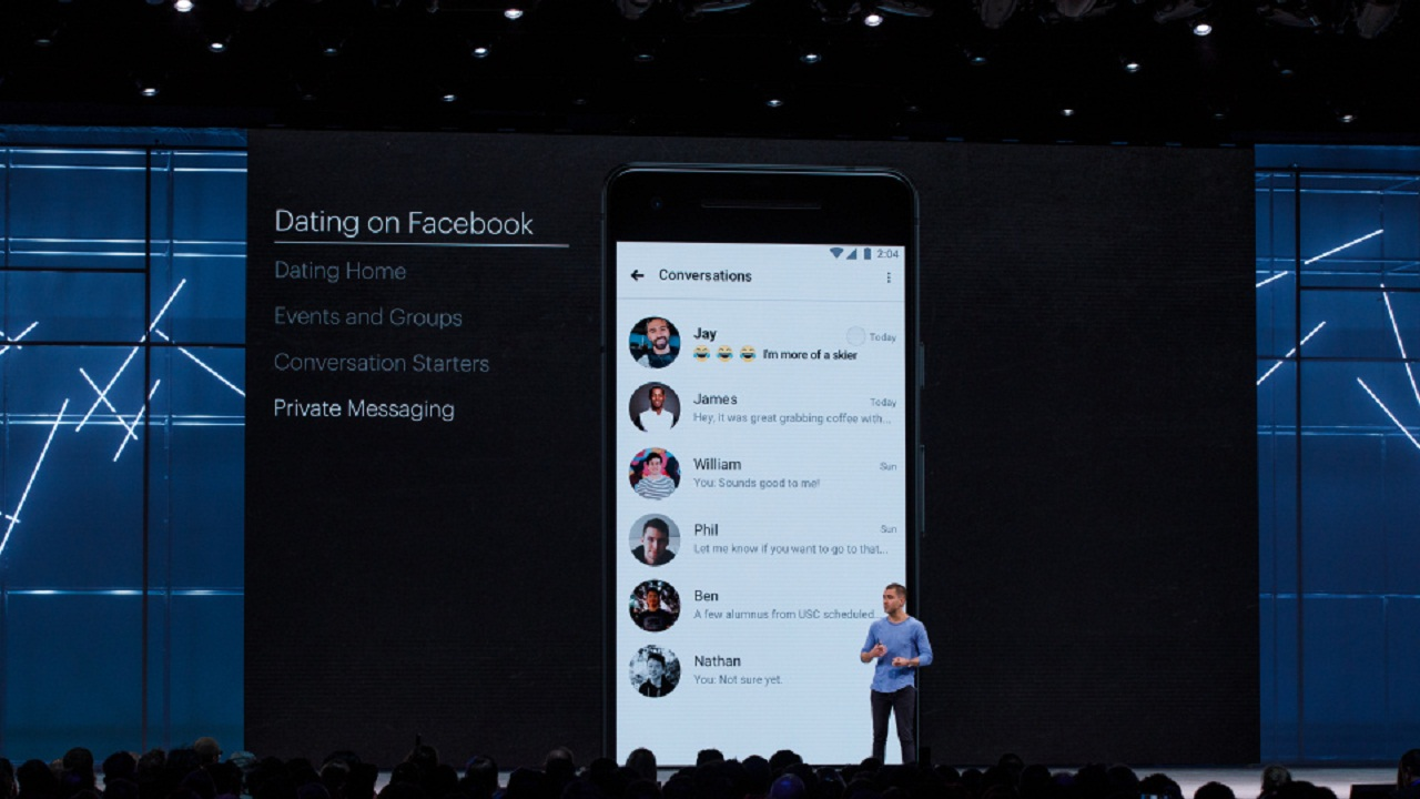 Facebook Dating was first announced at F8 2018.