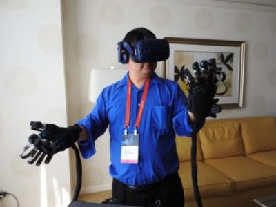 Haptx unveils haptic gloves so you can feel things in VR | Industry