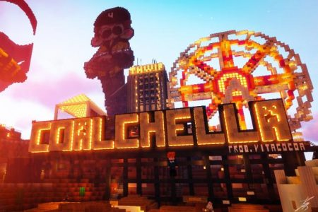 Inside Coalchella, the Minecraft music festival that had brands everywhere (sort of) | Advertising