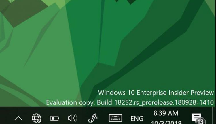 Microsoft releases new Windows 10 19H1 build to Skip Ahead and Fast Rings | Industry