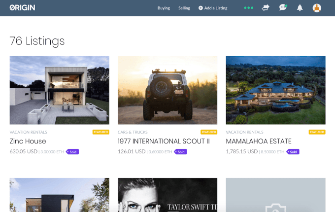 Origin launches protocol for building cheaper decentralized Ubers & Airbnbs | Industry