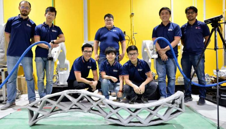 Scientists develop smart technology for synchronized 3-D printing of concrete | Robotics