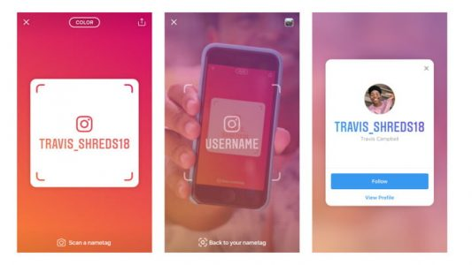 Snap a photo to follow a new friend on Instagram with its Nametags tool | Social Media