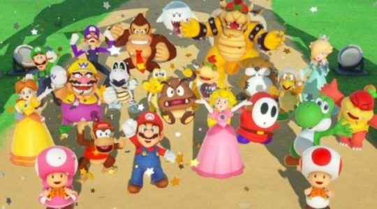 super mario party roster