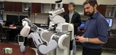 Undergrad students perform hands-on robotic experiments | Robotics