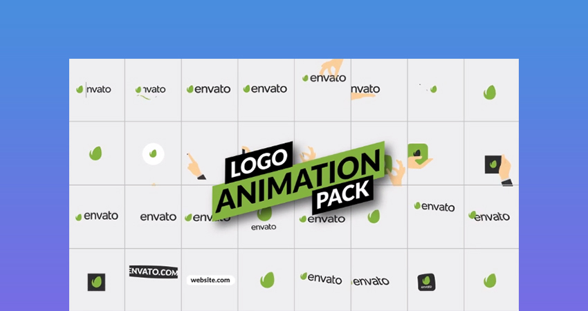 Logo Animation After Effects Template Pack - One of the best logo effects template that is trending in 2018