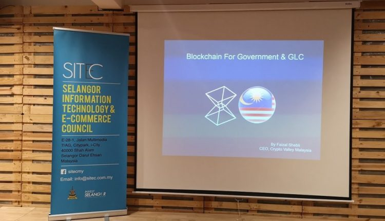 Blockchain For Governments and GLCs by Crypto Valley Malaysia | Digital Asia