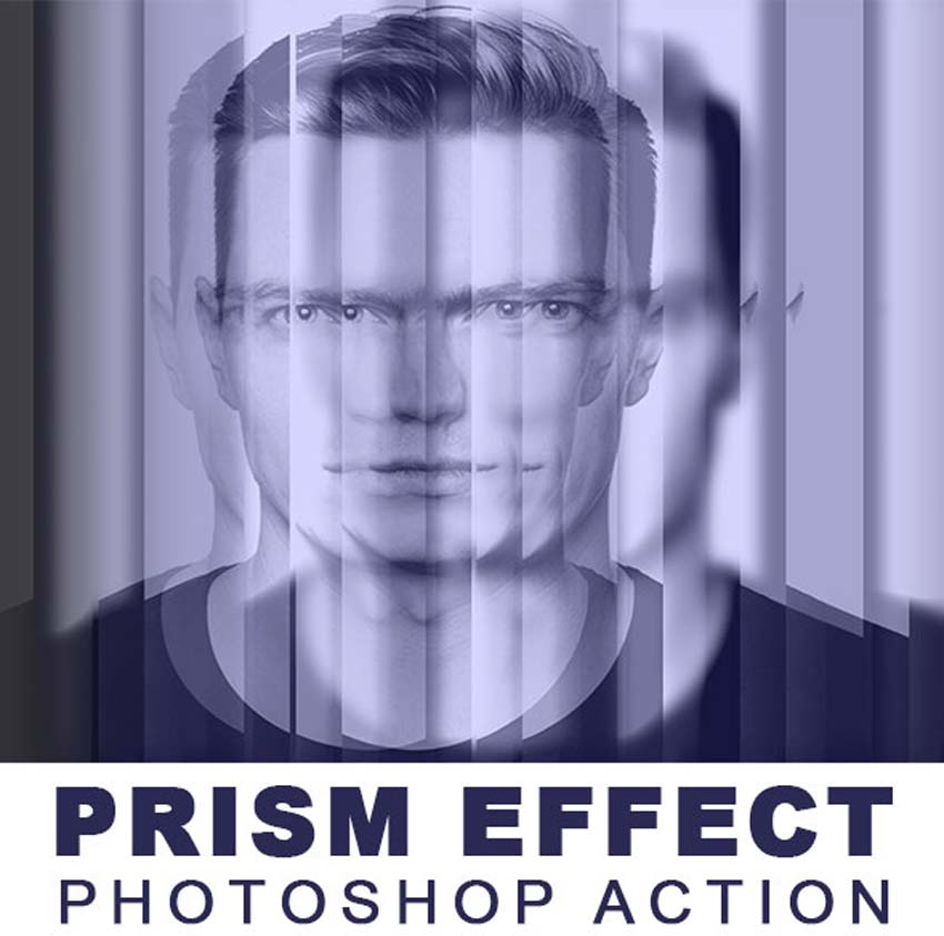 Prism Effect Photoshop Action