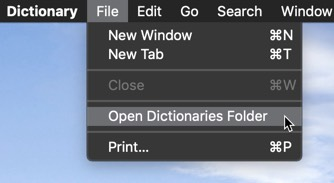 customize-dictionary-app-macos-open-dictionaries-folder