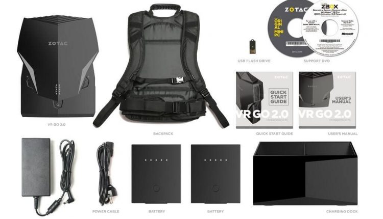 Zotac revamps its VR backpack with new CPU and features | Tech Industry