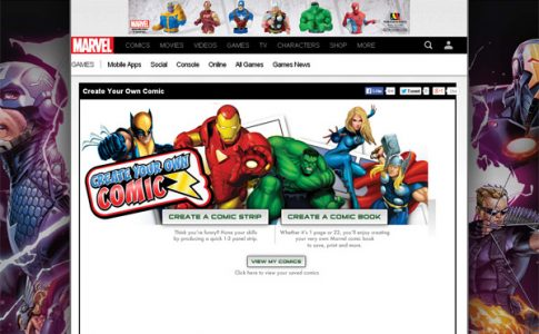 7 Sites to Create Your Own Comics Online | Web Designing