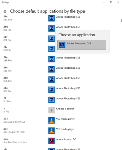 change-reset-replace-file-associations-windows-10-default-applications