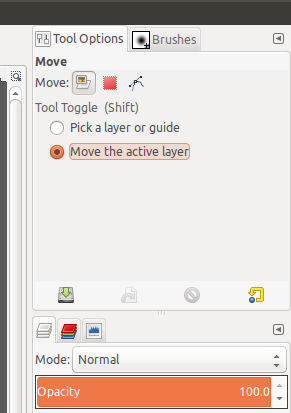 Set Move Tool Options