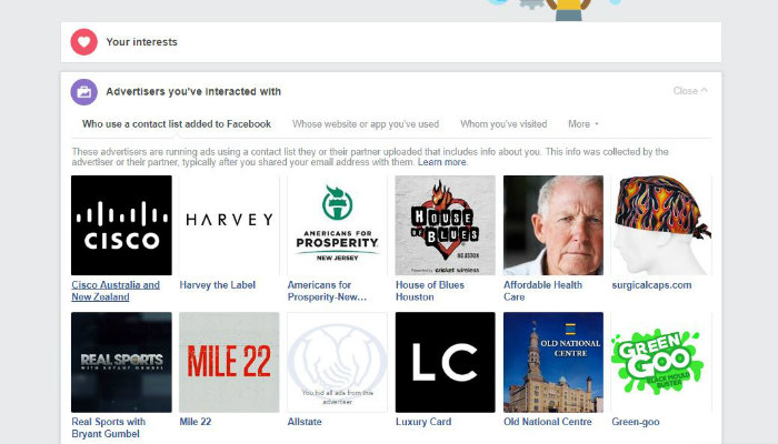facebook-data-advertisers