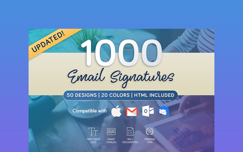 Professional Email Signature Templates