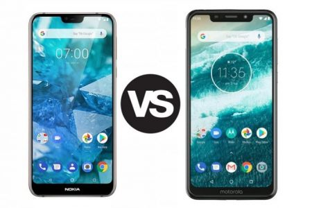 Affordable notchy phones battle it out: Nokia 7.1 Plus vs Motorola One