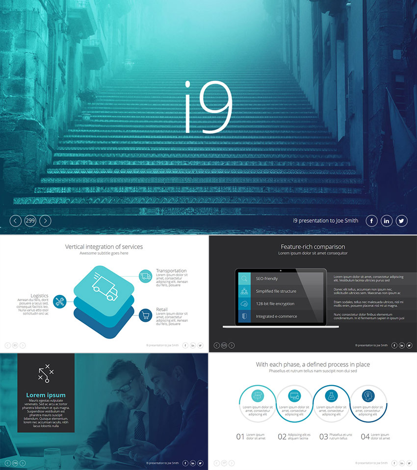 Free Downloadable Powerpoint Slide Designs: 25+ Awesome PowerPoint Templates (With Cool PPT