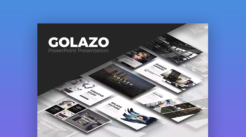 Golazo Cool PowerPoint PPT Presentation Template Design