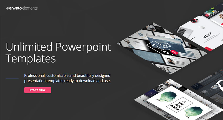 Amazing PowerPoint PPT templates on Envato Elements - with unlimited access