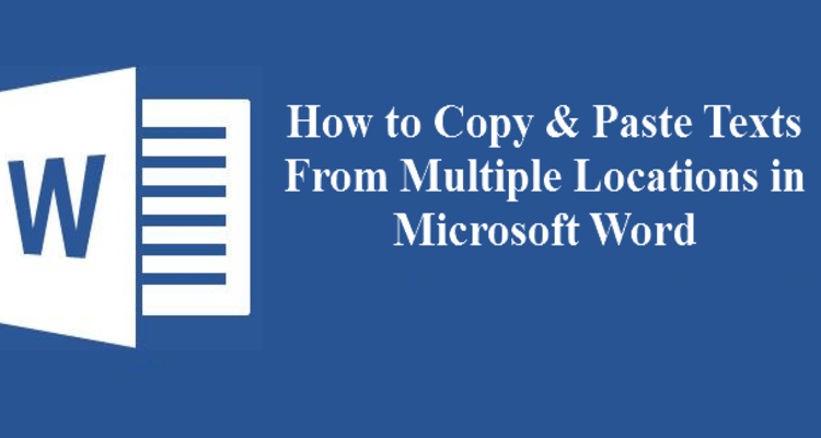 How to Copy and Paste Multiple Text Selections in Microsoft Word | Tips & Tricks