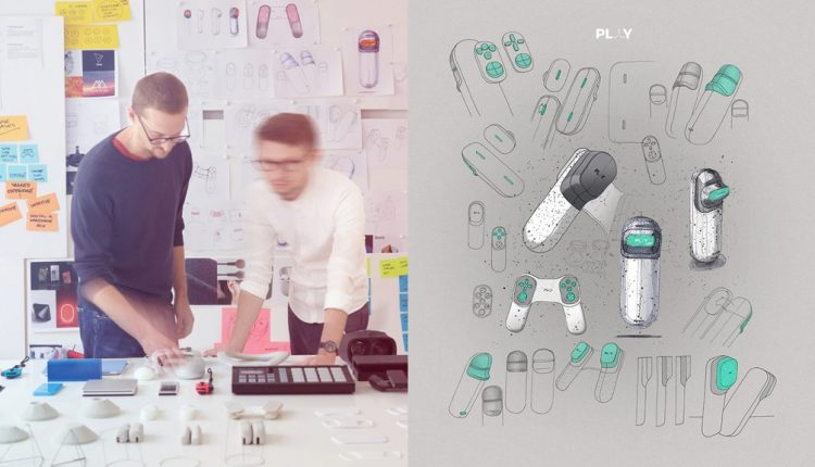Industrial Design: PLAY, an innovative gaming kit | Web Designing