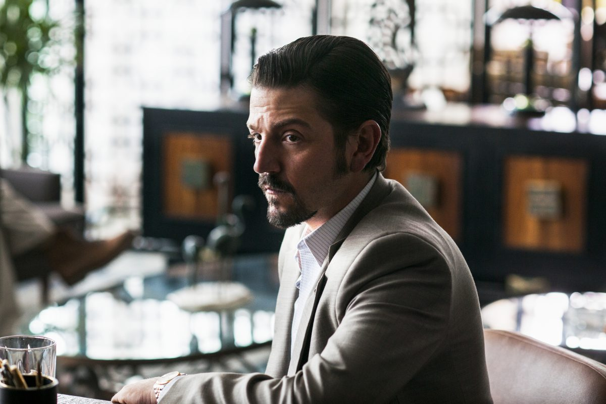 Diego Luna plays the villain on'Narcos: Mexico.'